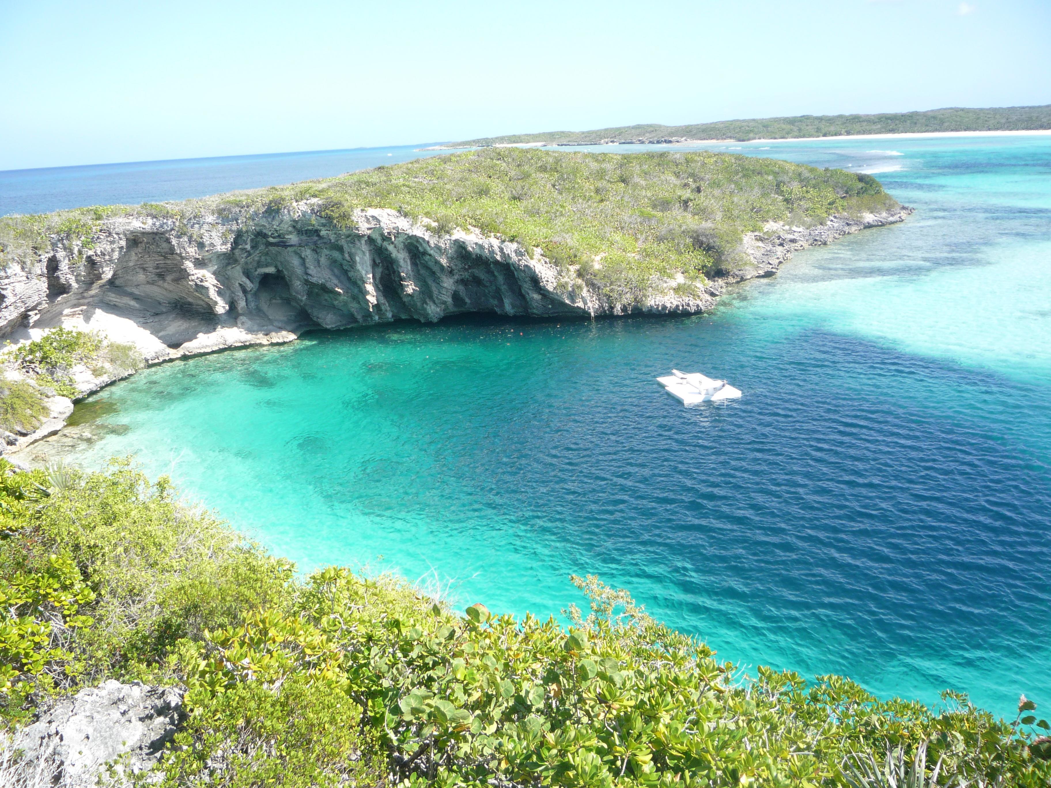 FileDean Blue Hole Long Island Bahamas 20110210JPG   Wikipedia the 3648x2736