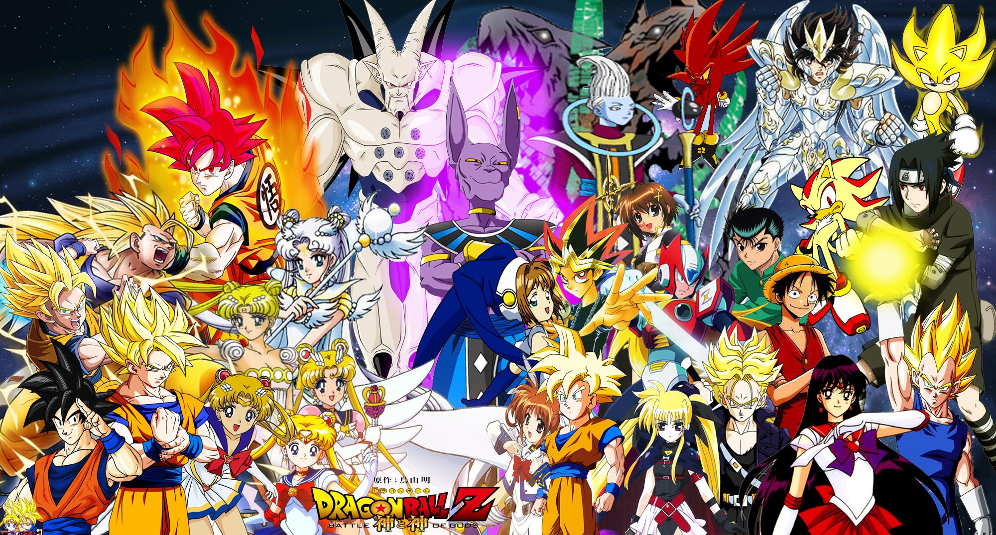 30 Gods Of Dragon Ball Wallpapers On Wallpapersafari