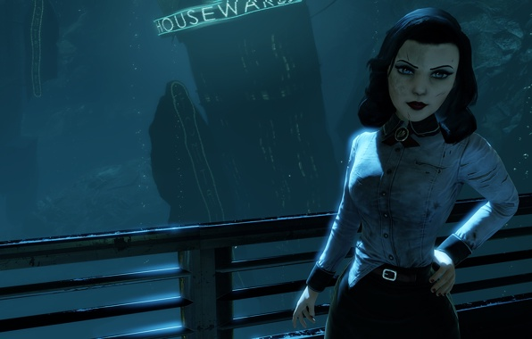 rapture elisabeth irrational games wallpapers photos pictures 596x380