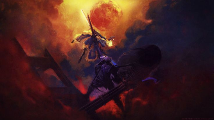 Fate Zero Drawing Berserker Anime wallpaper background 736x414
