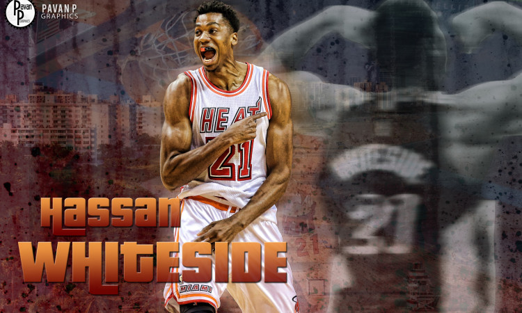 Hassan Whiteside Wallpapers Basketball Wallpapers at 750x450