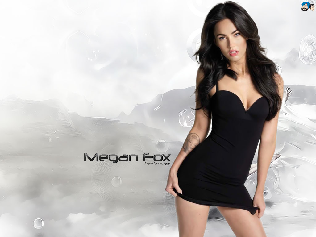 Download Megan Fox Hot HD Wallpaper 72 1024x768