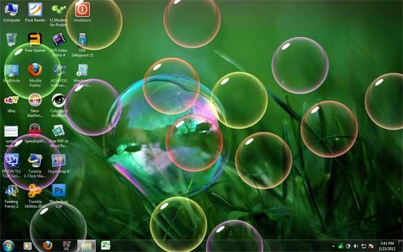 Wallpapers and Screensavers Bubbles - WallpaperSafari