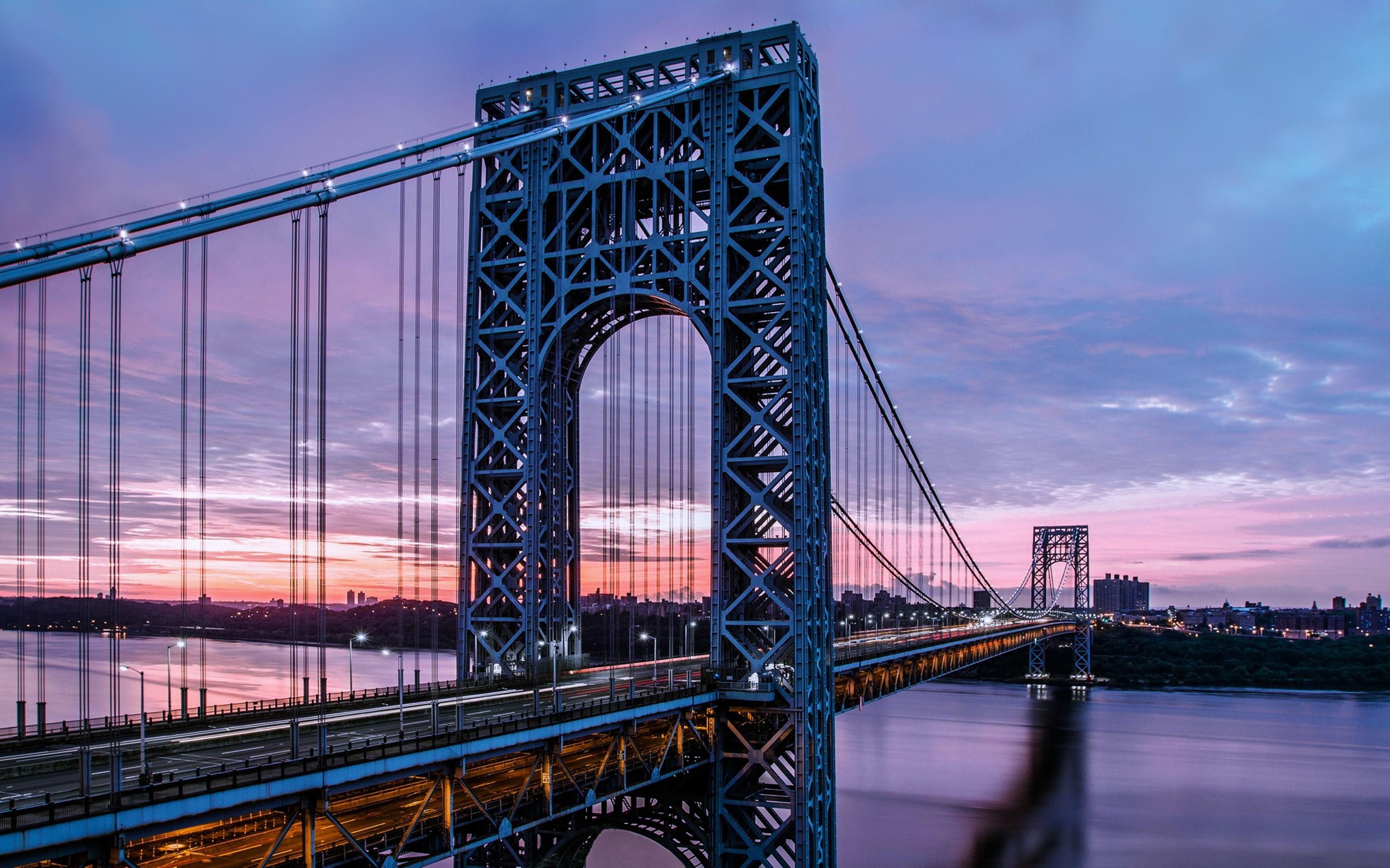George Washington Bridge Wallpaper 18   3840 X 2400 stmednet 3840x2400