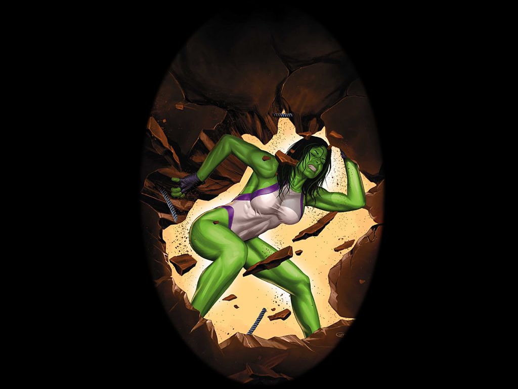 She Hulk Wallpaper 1024x768