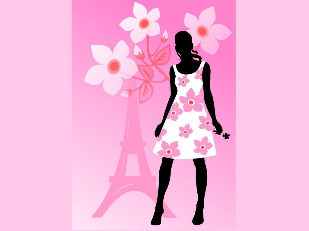 Cute Black And Pink Wallpaper 1 Wallpaper   Hdblackwallpapercom 1024x768