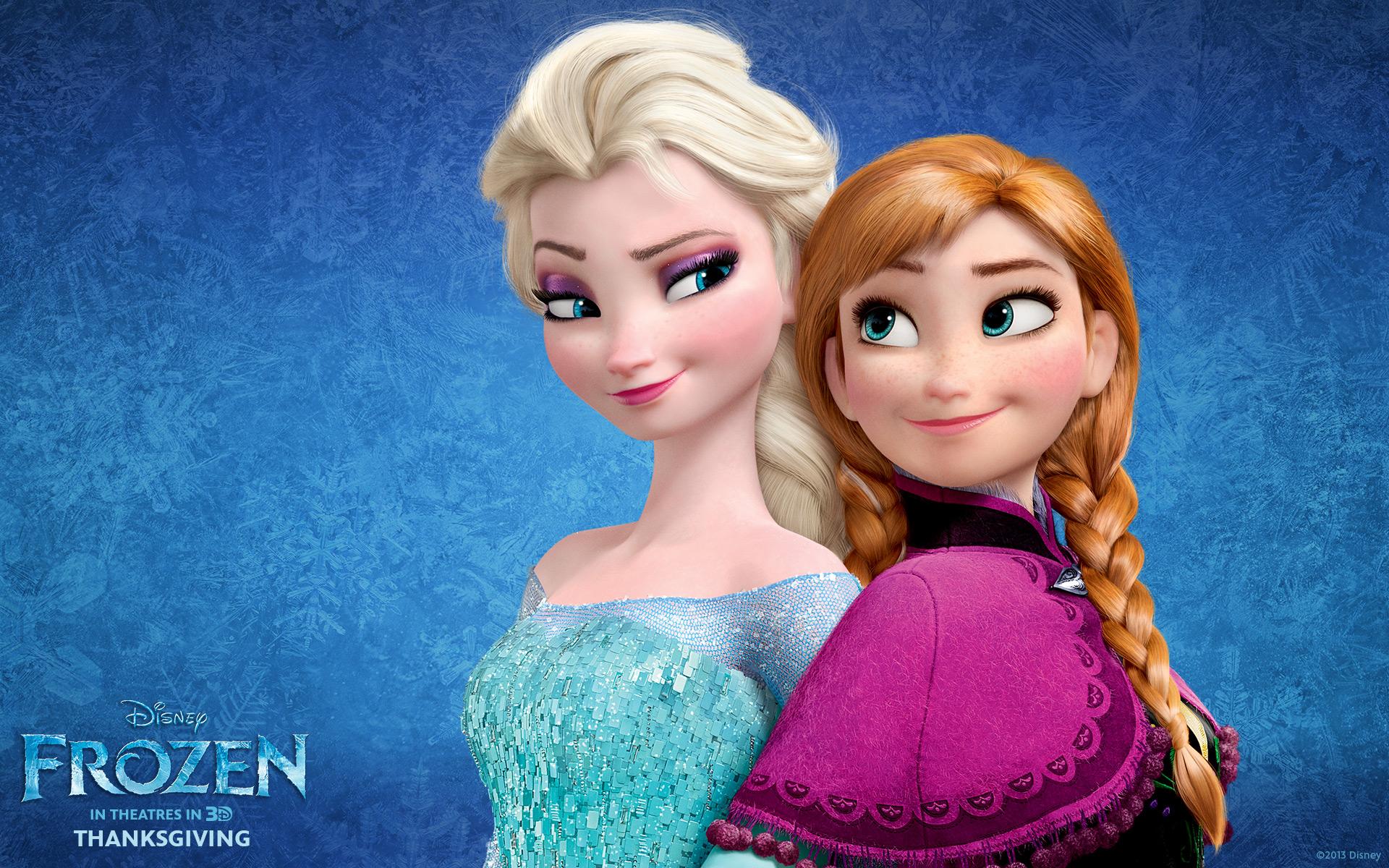 Elsa and Anna Wallpapers   Frozen Wallpaper 35894706 1920x1200