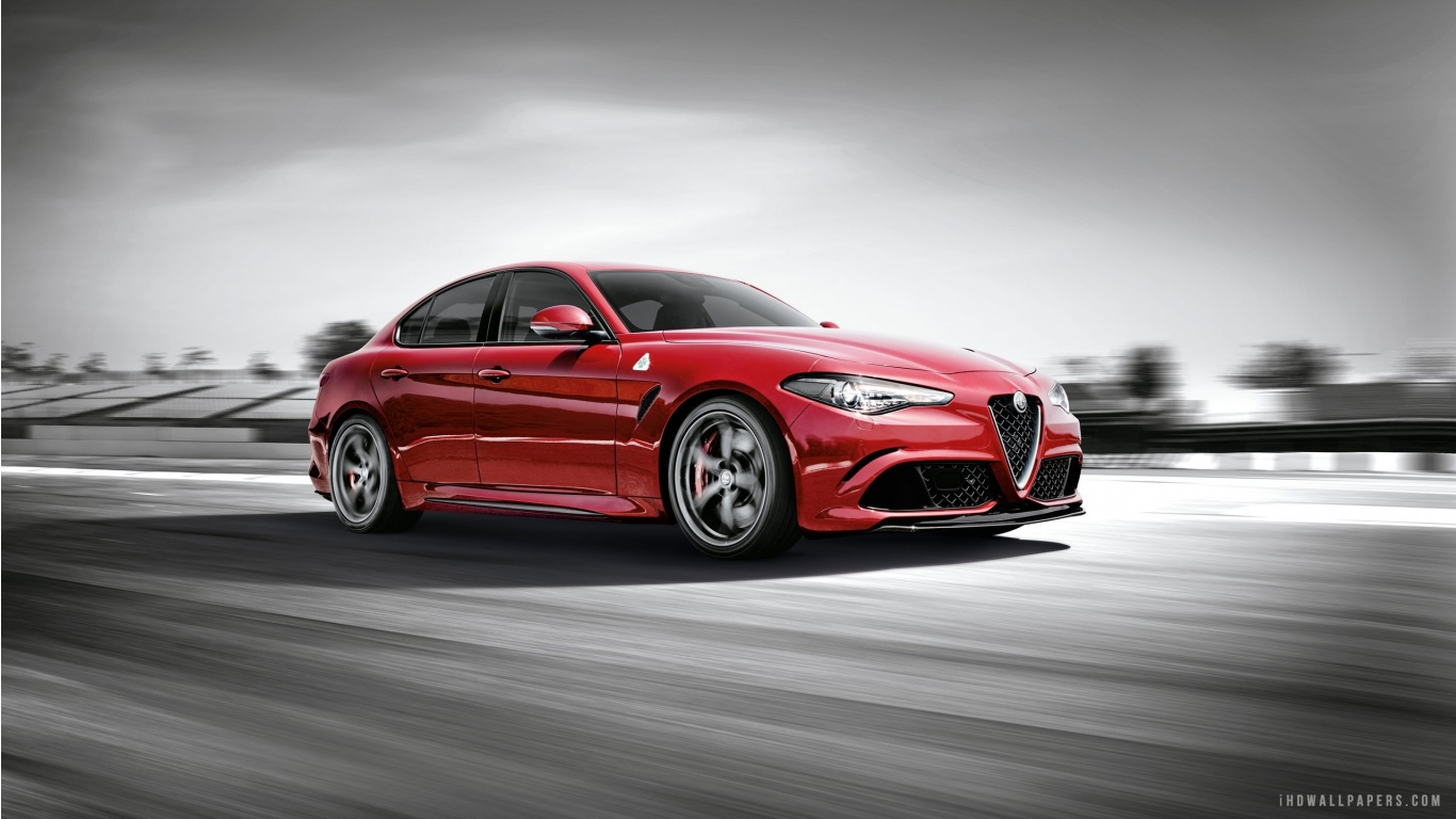 Free Download 2016 Alfa Romeo Giulia Hd Wallpaper Ihd