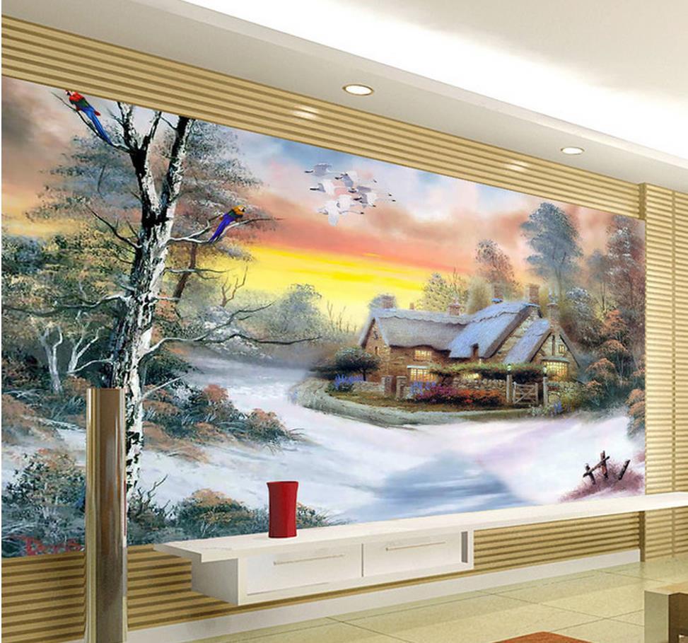 Mural 3d Lukisan
