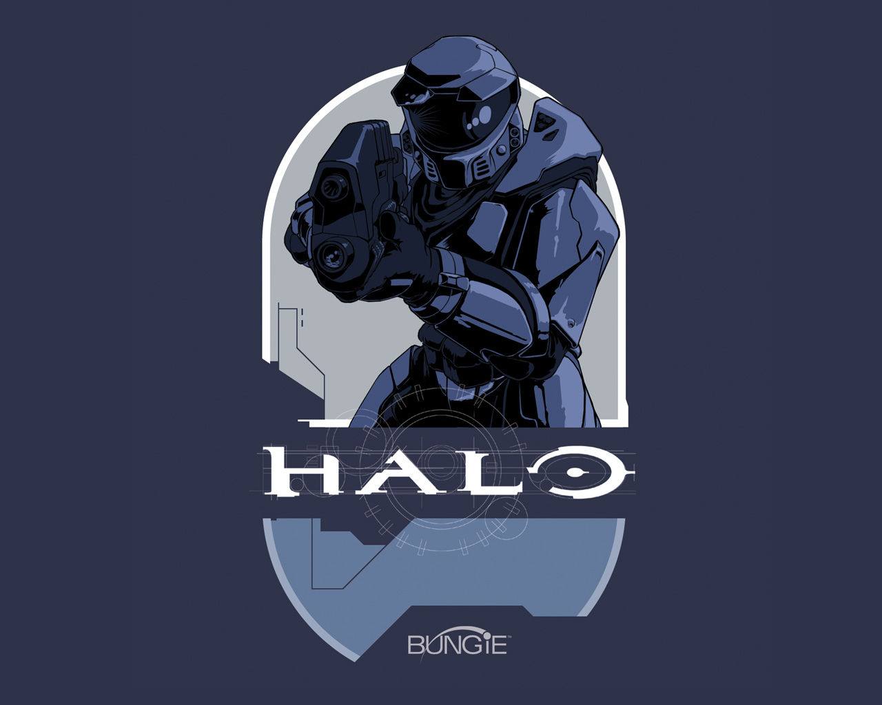 Halo Combat Evolved 2001 promotional art   MobyGames 1280x1024