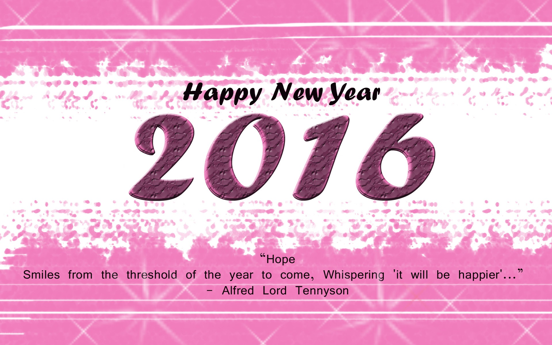 Happy New Year 2016 Desktop Background   New HD Wallpapers 1920x1200