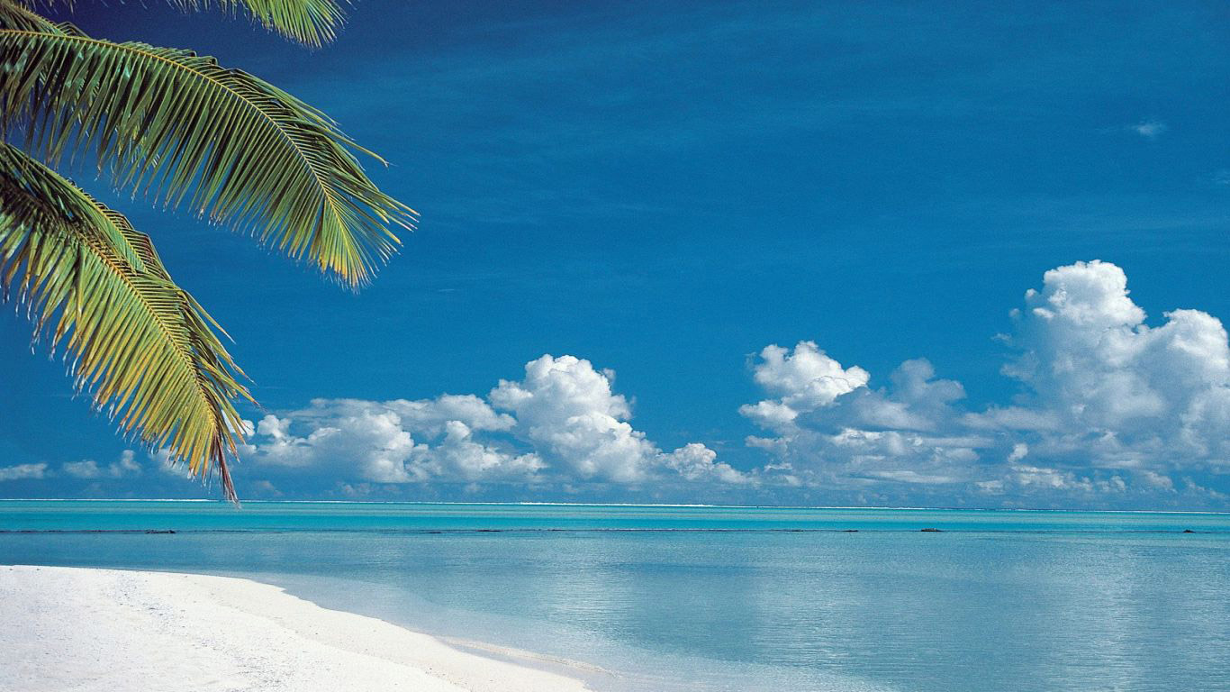 129 Beach Wallpaper Examples To Put On Your Desktop Background 1366x768