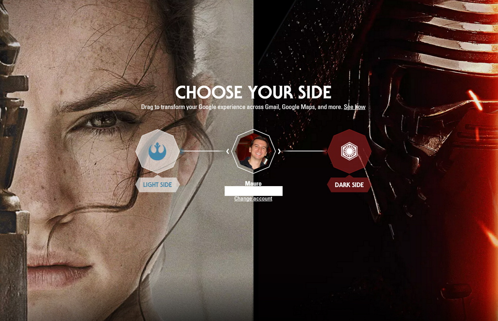 How to remove the Star Wars theme from your Google account The 1024x659
