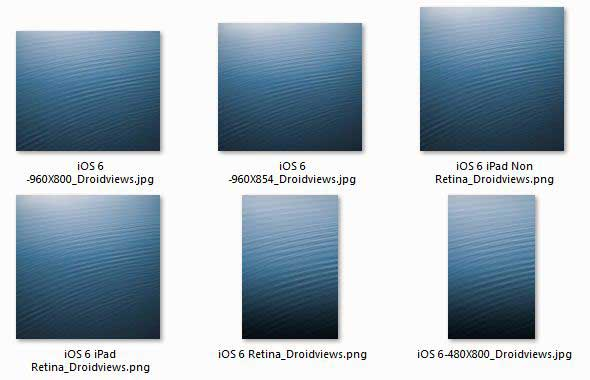 Download iOS 6 Default Wallpaper for Android iDevices DroidViews 590x380