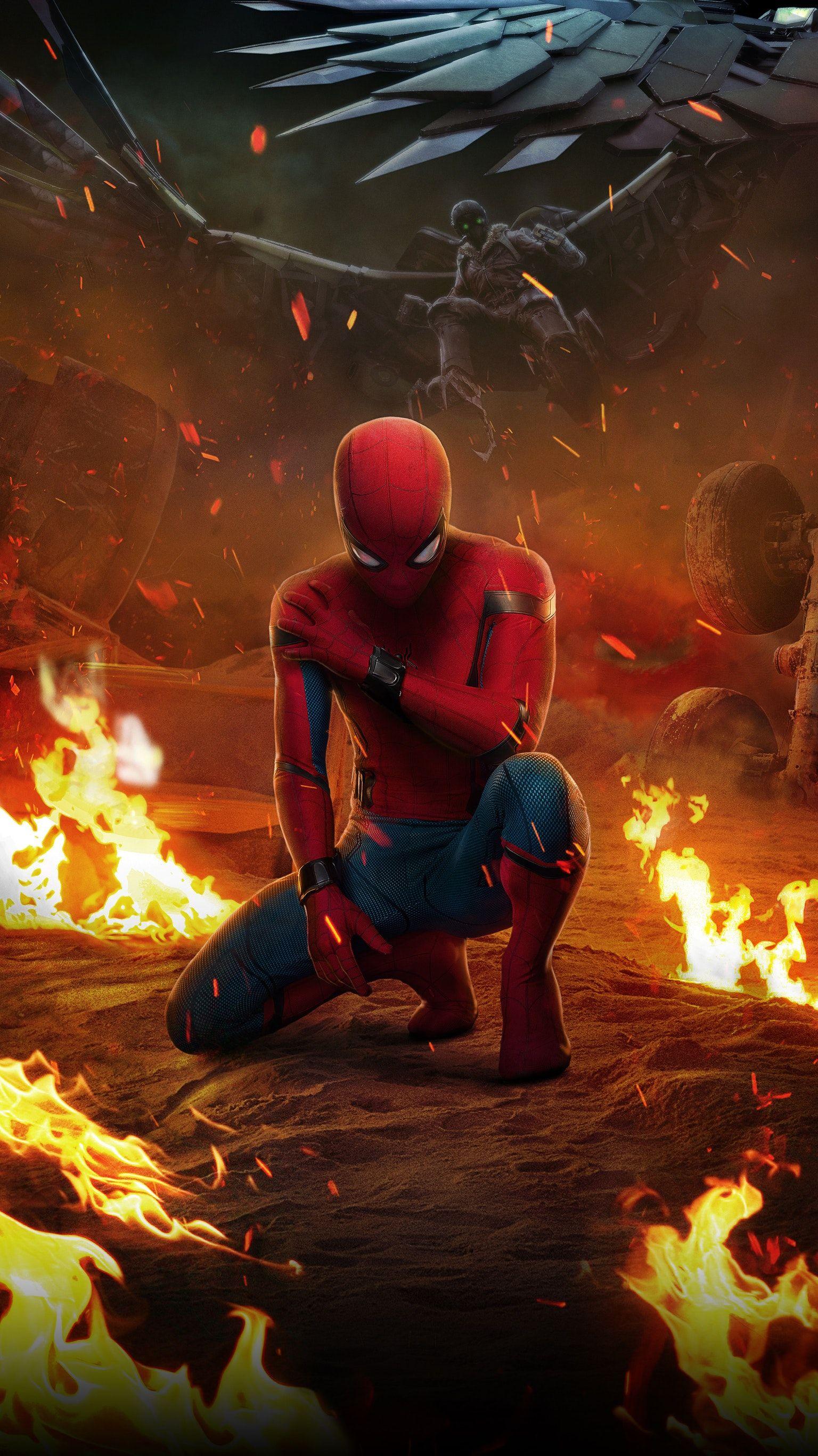 Spider Man Homecoming 2017 Phone Wallpaper HERO CIVIL 1536x2733