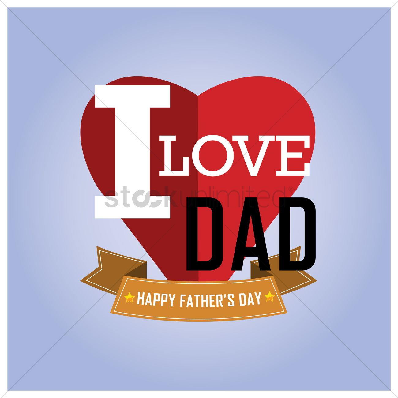 Happy fathers day wallpaper Vector Image   1585479 StockUnlimited 1300x1300