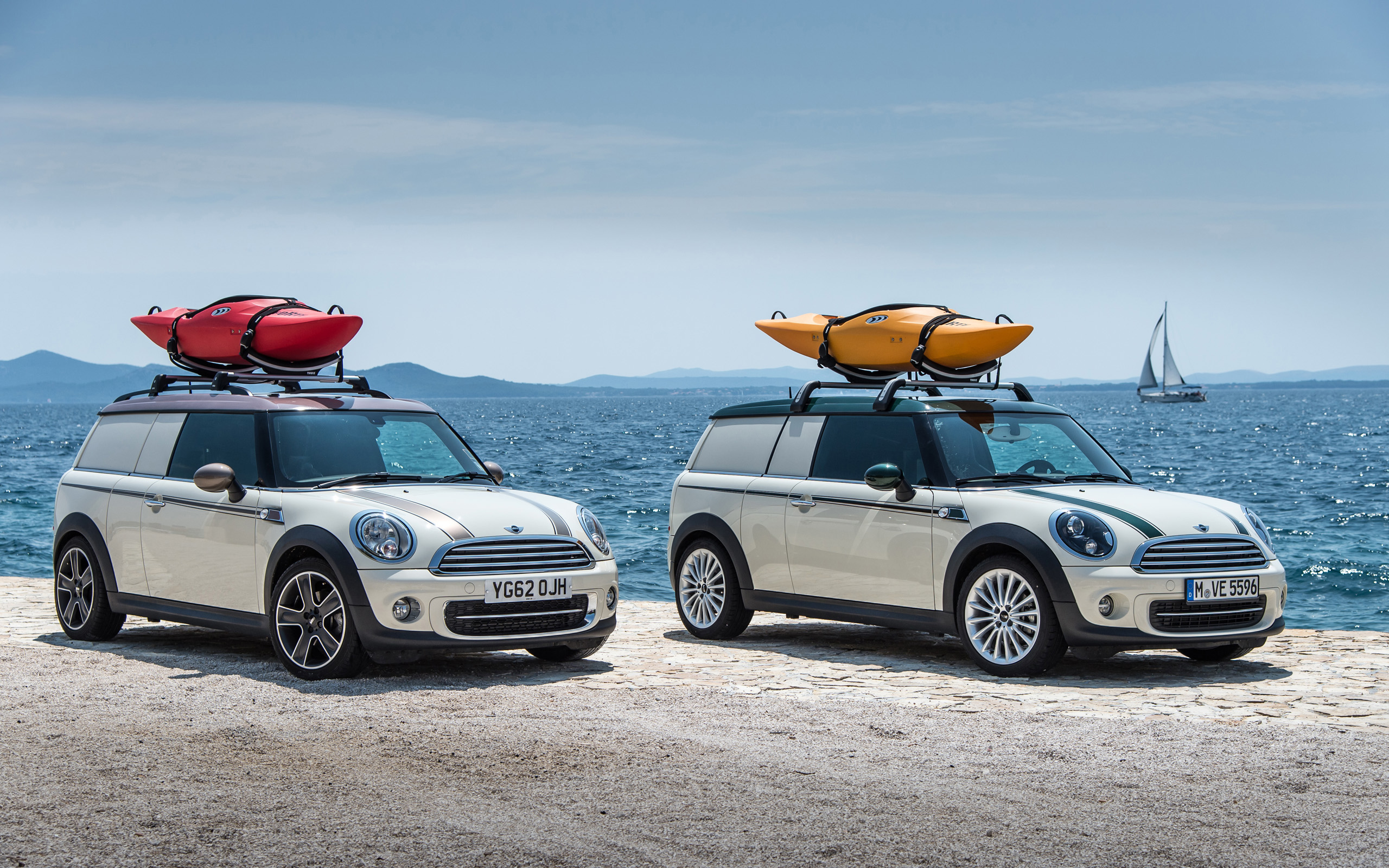 2013 Mini Clubvan Duo Camper Concept Wallpaper HD Car Wallpapers 2560x1600