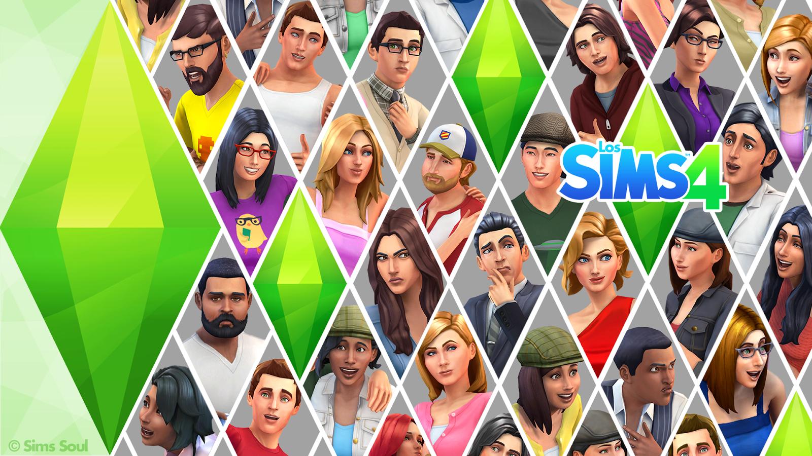 The Sims 4 Wallpaper CC - WallpaperSafari