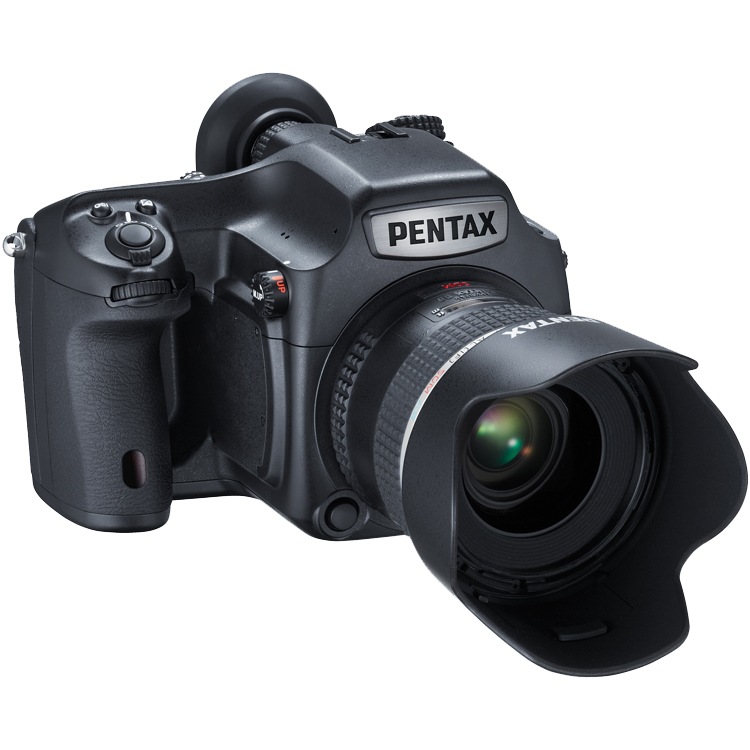 Pentax 645Z Camera front view transparent image Png Images 750x750