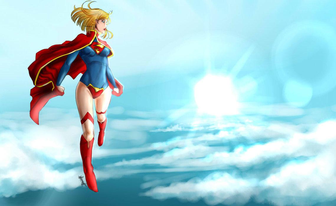 Wallpaper Supergirl News 52 by Erickson777 1139x701