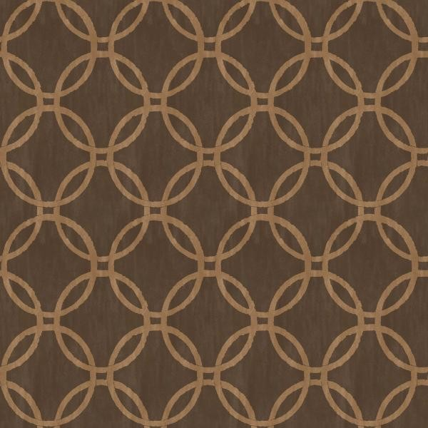 Ecliptic Brown Geometric Wallpaper Warehouse 600x600
