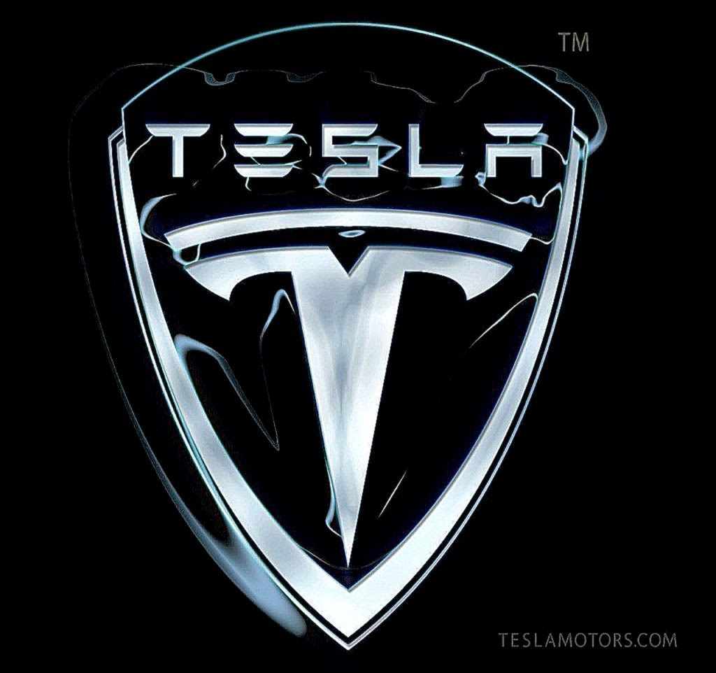 White 2014 Tesla Model S Wallpaper 03