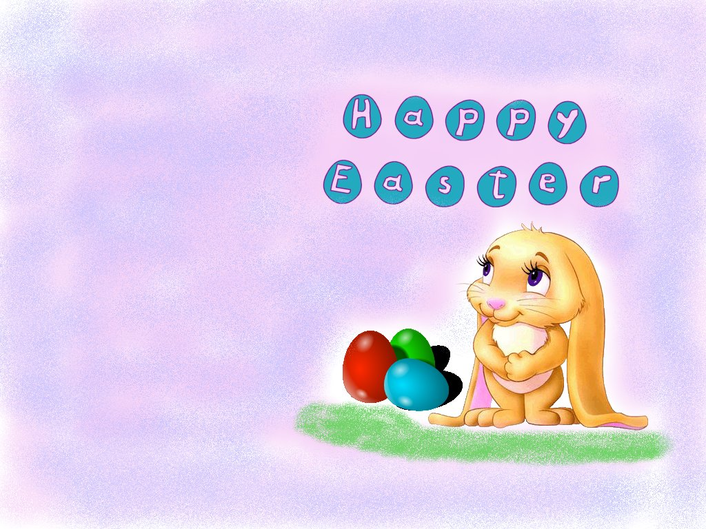 Download Easter Bunny Wallpaper Which Is Under The Wallpapers 1024x768
