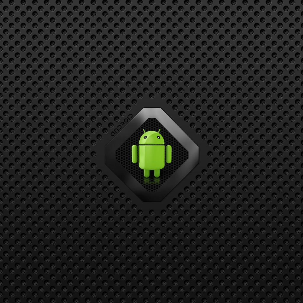 Google Android logo download wallpapers for iPad 1024x1024
