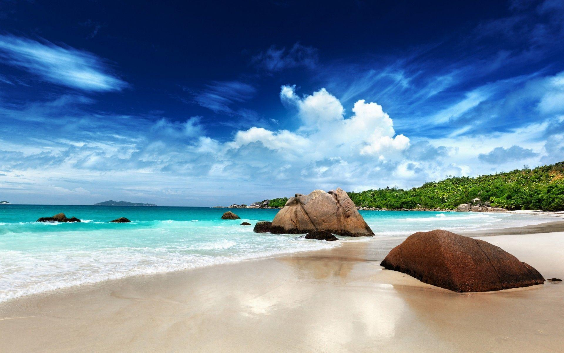 Beach Paradise Wallpapers 1920x1200