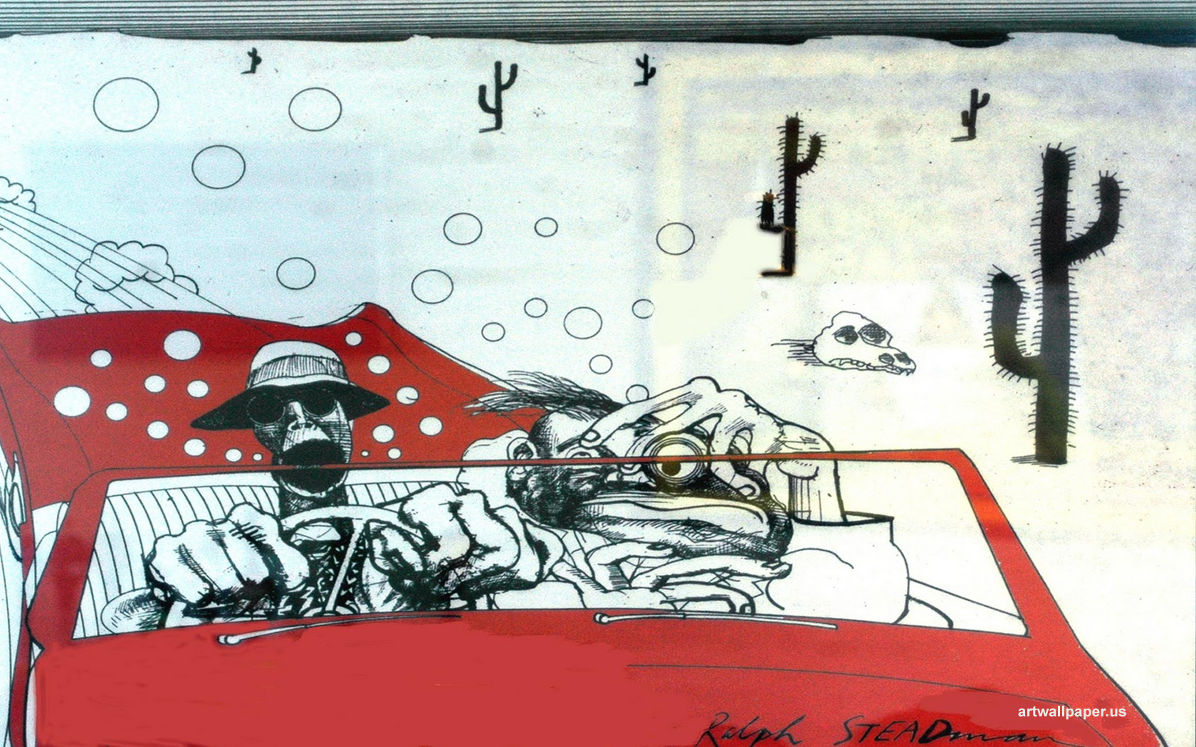 Ralph Steadman Wallpaper - WallpaperSafari