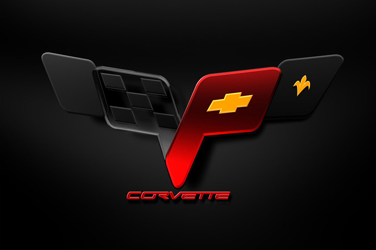 Corvette Logo Wallpapers HD Pictures Emblem Top Photo Wallpapers 1200x800