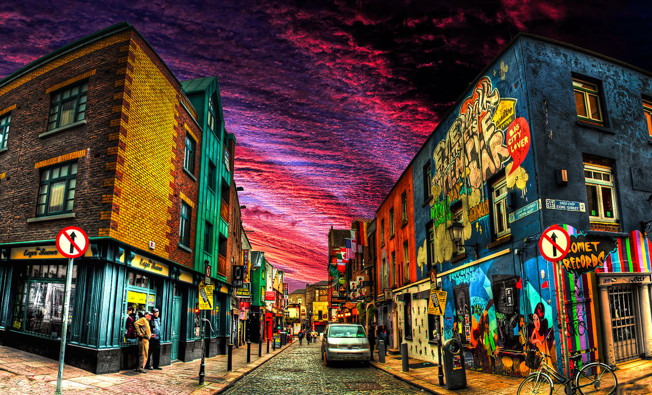 Free Download Dublin City Ireland Hd Wallpapers