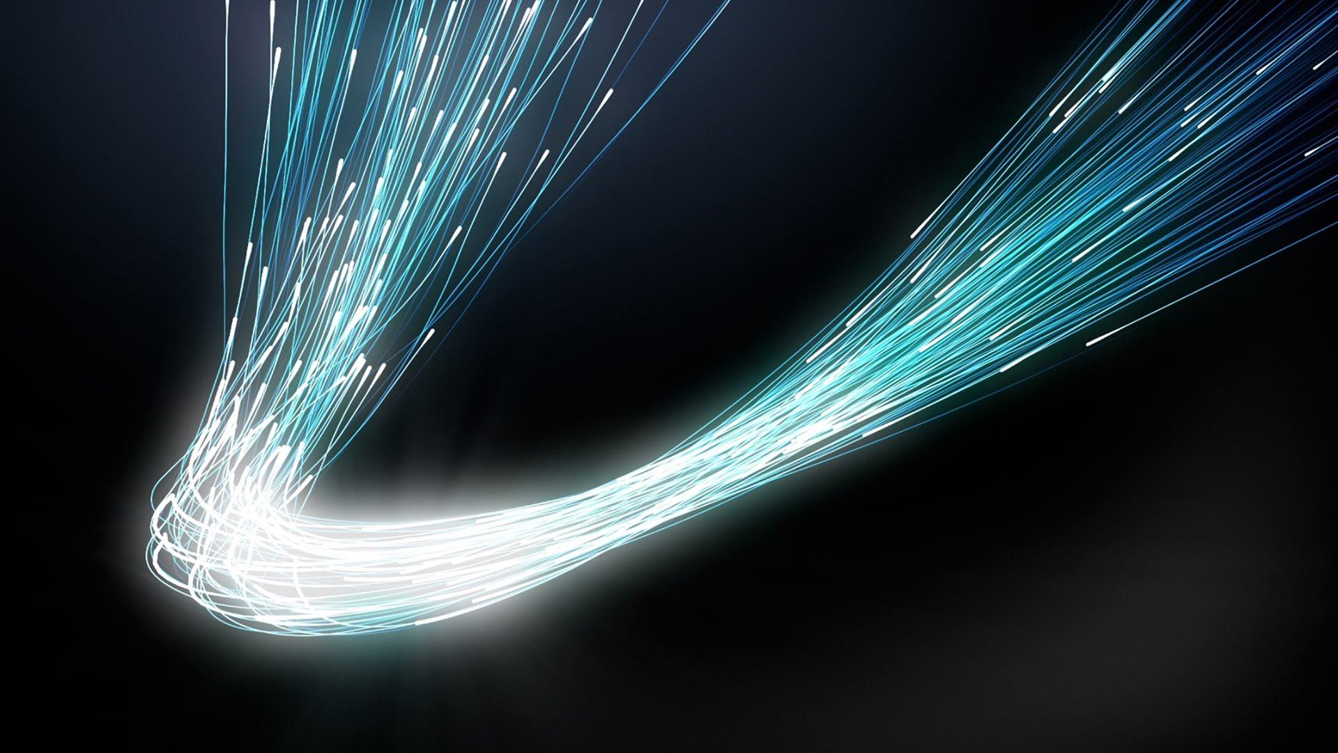 Thin Fiber Optic Cables Concept Background   Loop 1920x1080