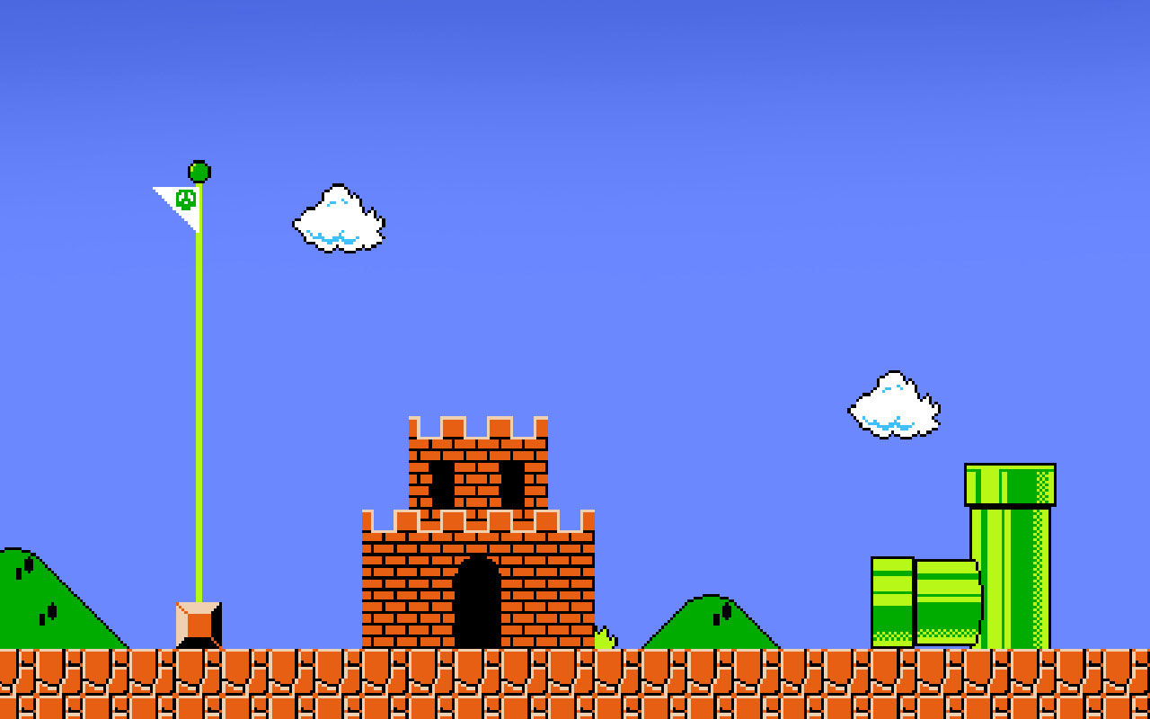 original mario gameplay 1280x800