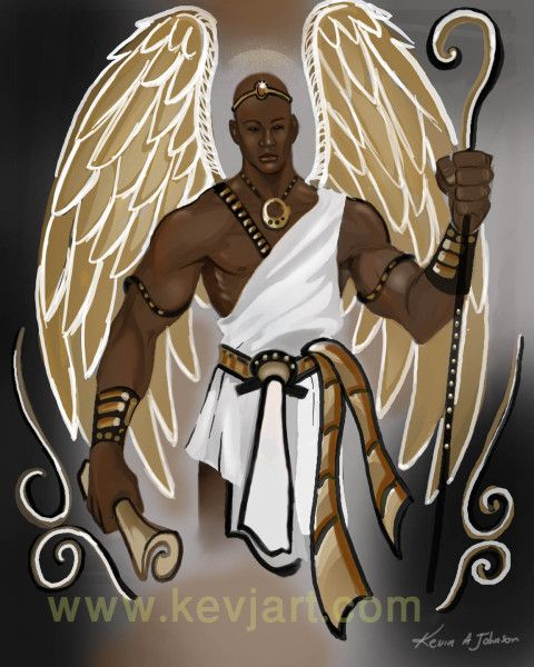 Unseen Hands Protecting and Guiding Us | African american art, Angel art,  Black art pictures