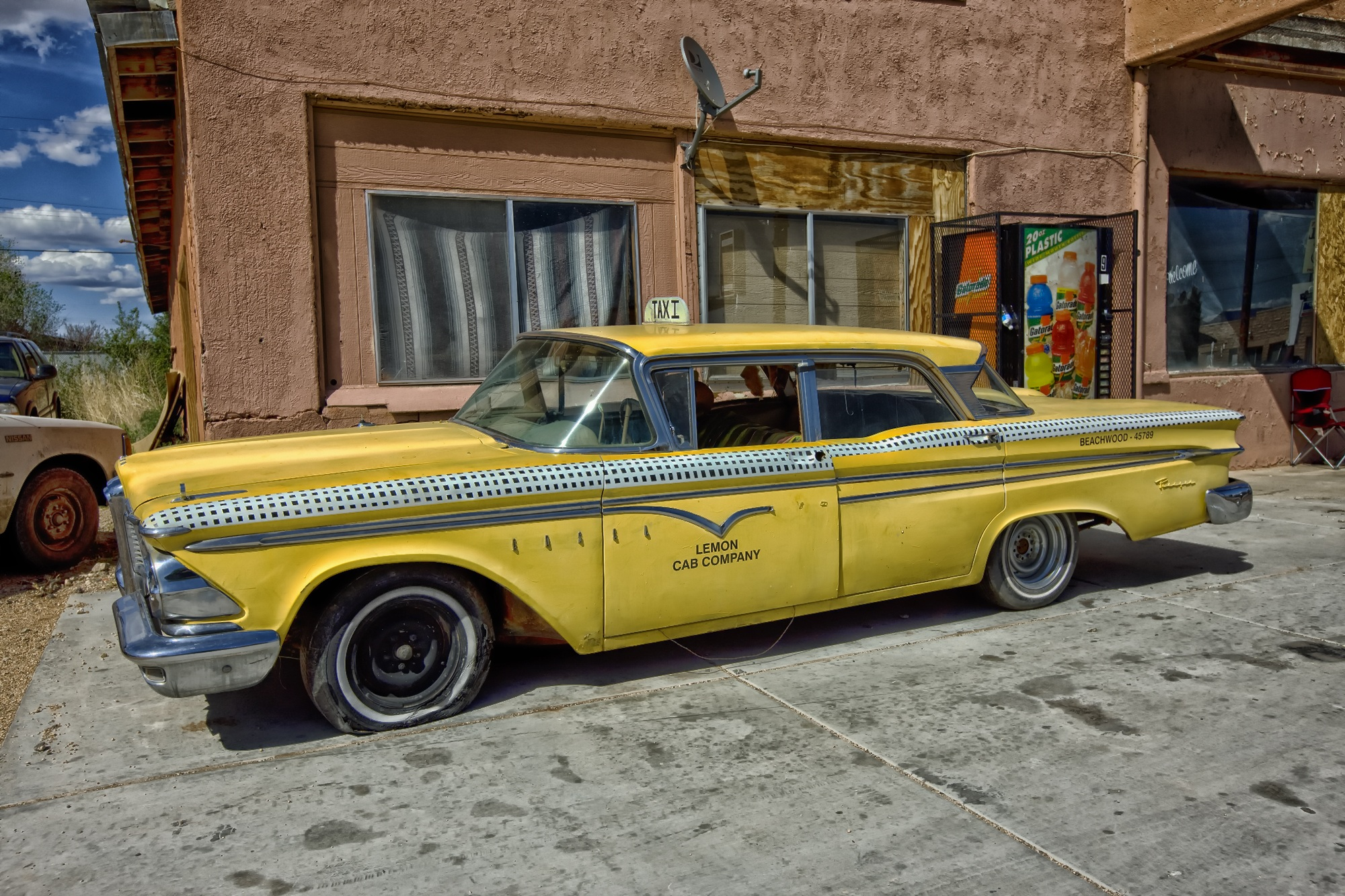 Lemon Cab Company   Edsel Ranger HD Wallpaper Background Image 2000x1333