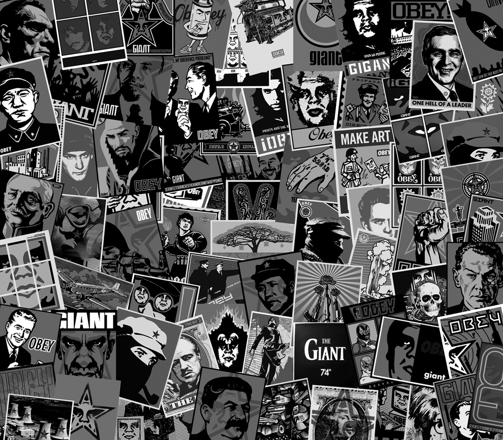 Obey Giant The Medium is the Message 1024x896