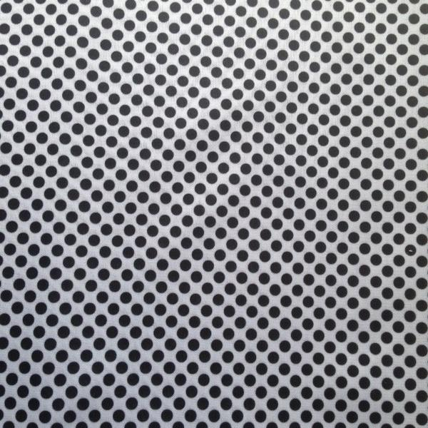 AMERICA Black Polka Dot white background PUL   Made In Canada 600x600