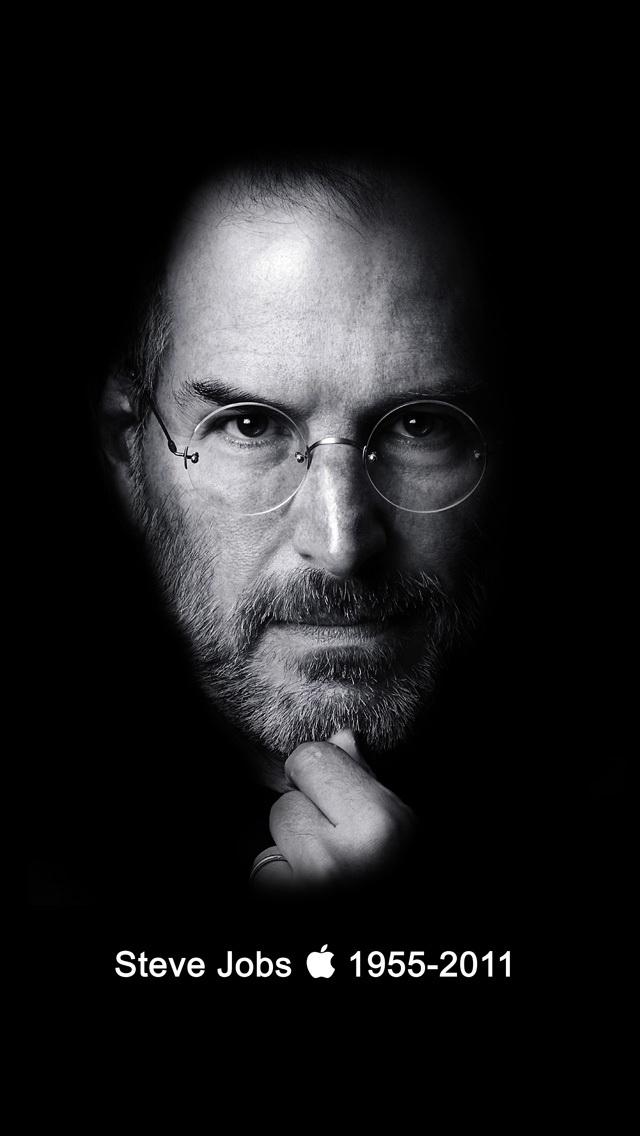 iPhone 5 Steve Jobs Wallpaper HD 640x1136
