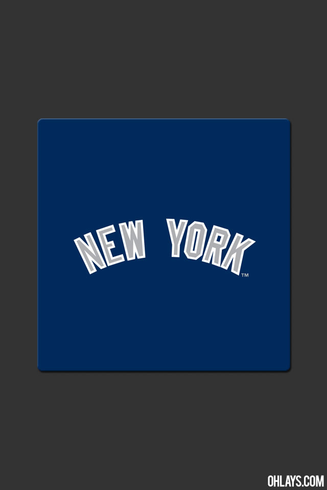 New York Yankees iPhone Wallpaper 771 ohLays 640x960