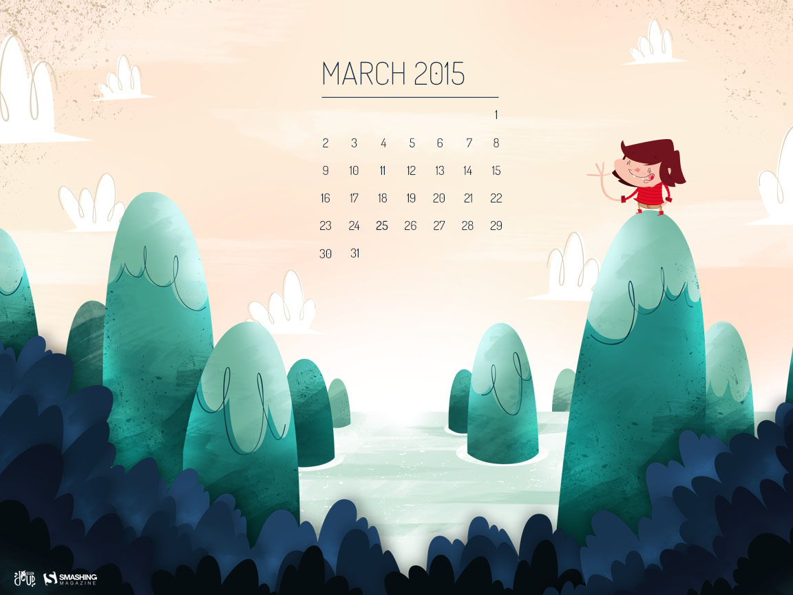 Desktop Wallpaper Calendars March 2015 Smashing Magazine 1152x864
