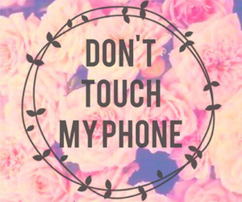 Dont Touch My Phone Wallpaper Zedge: Don't Touch My IPod Wallpaper