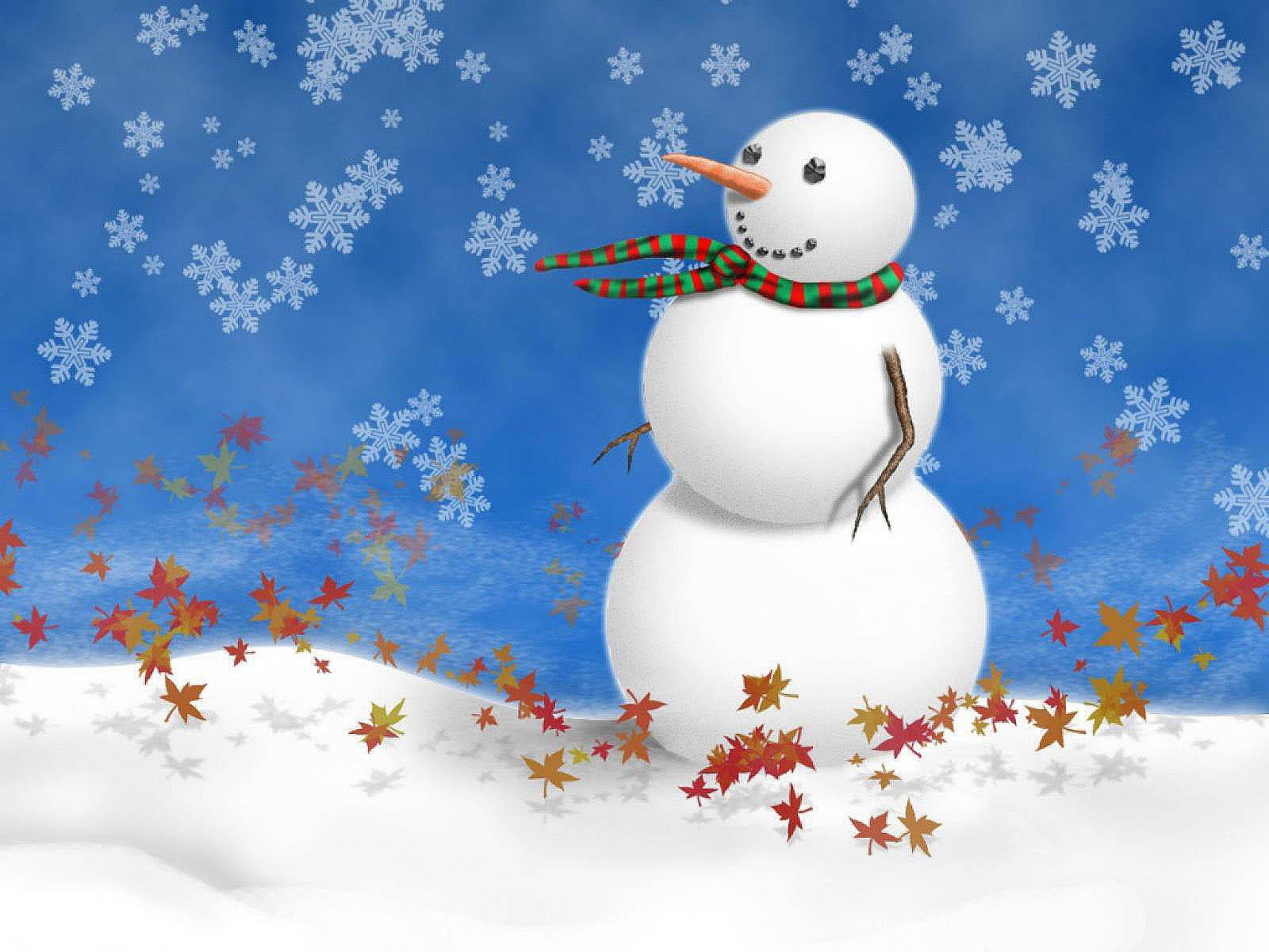 78] Snowman Wallpaper on WallpaperSafari 1600x1200
