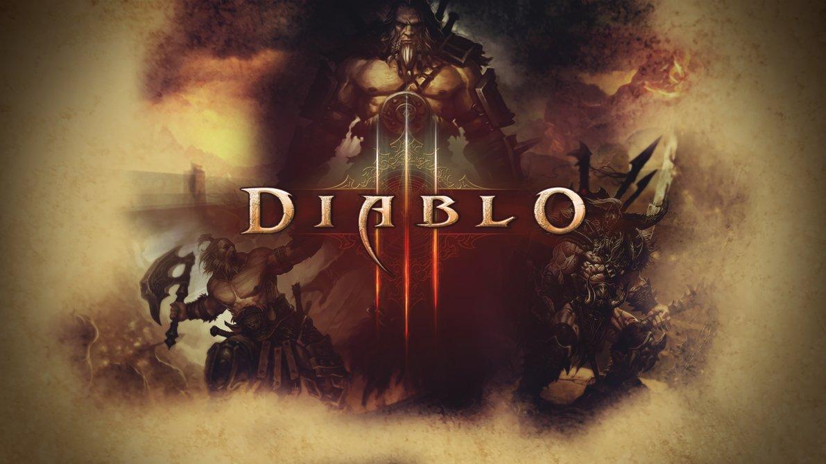 Diablo 3 Wallpaper feat Barbarian by PT Desu 1191x670