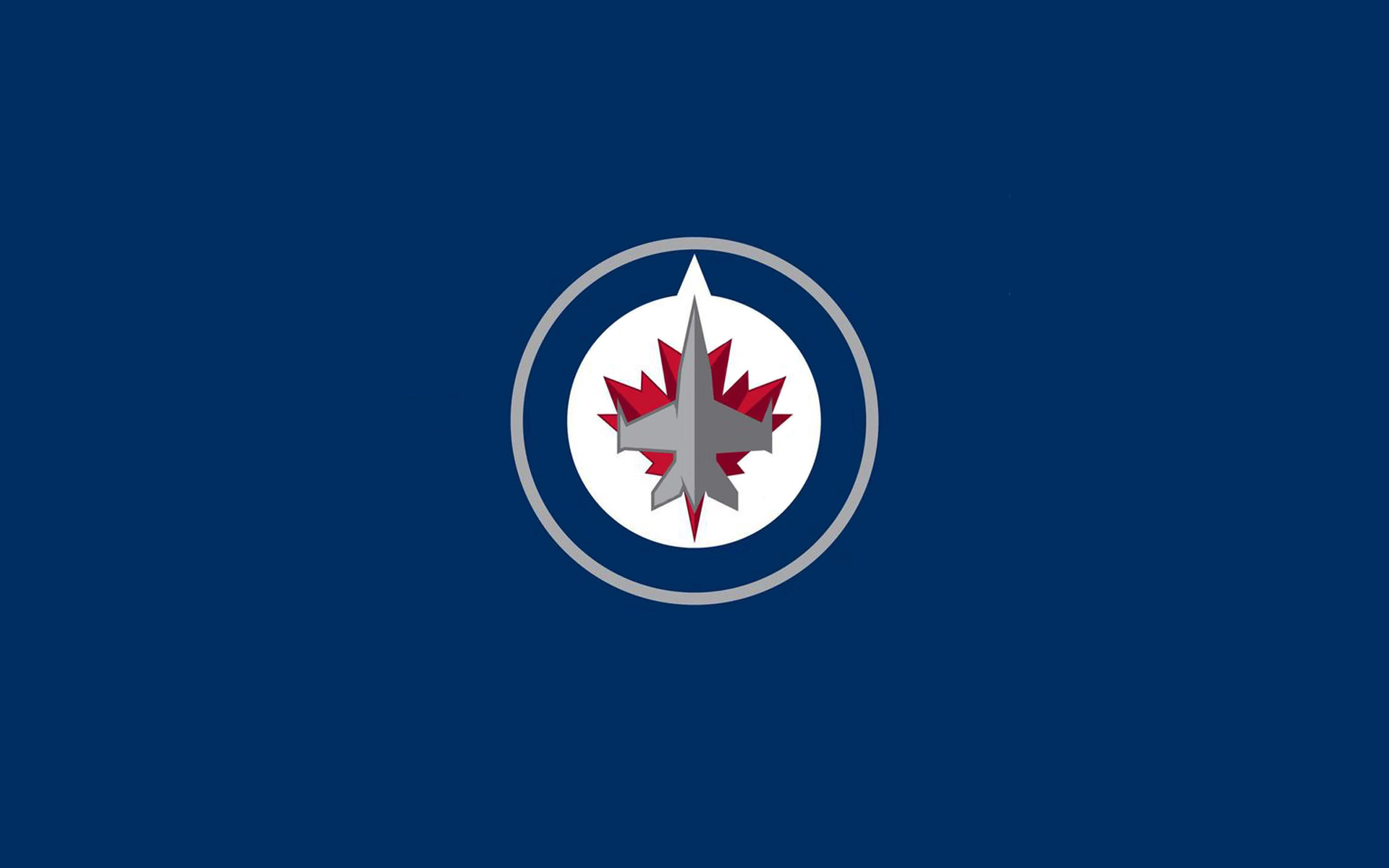 New Winnipeg Jets Logo Wallpapers for Netbooks iPad2 iPhones 1920x1200