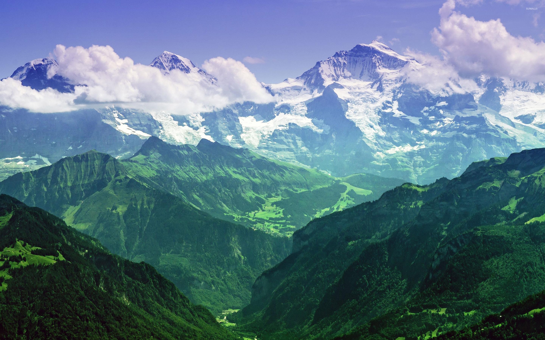 Jungfrau Bernese Alps Switzerland wallpaper   Nature wallpapers 2880x1800