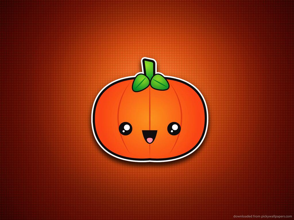 Download 1024x768 Halloween super cute awesome pumpkin wallpaper 1024x768