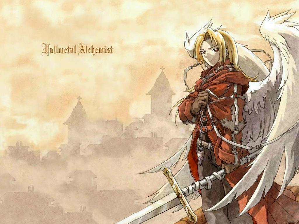 Anime Wallpaper Fanatic FULLMETAL ALCHEMIST 1024x768