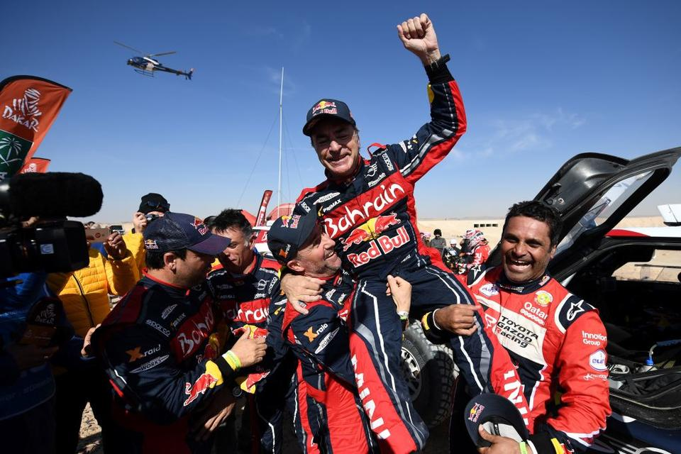 Carlos Sainz wins first Dakar Rally to be held in Saudi Arabia 960x640