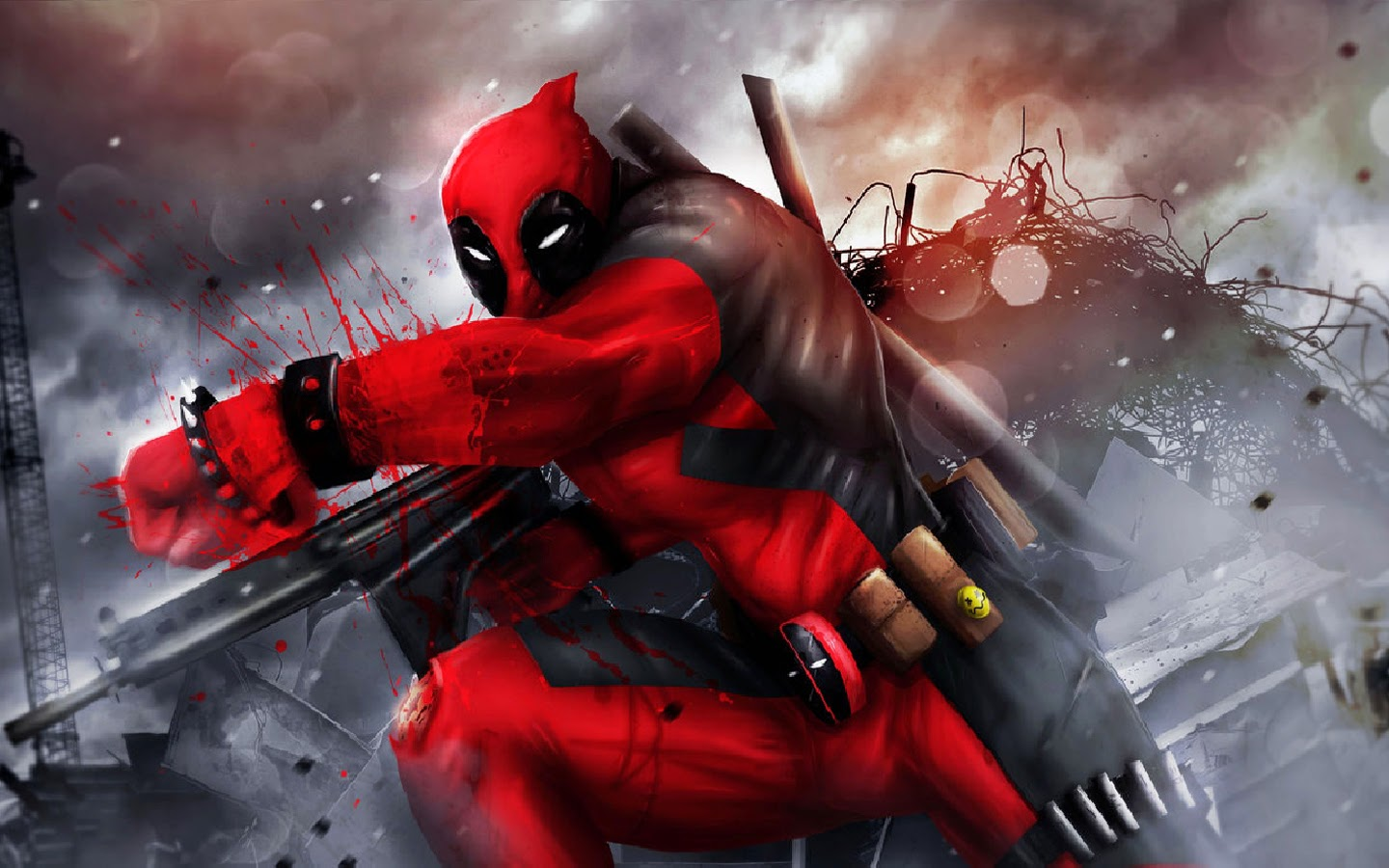 Top Cool Deadpool Wallpaper Images for Pinterest 1440x900